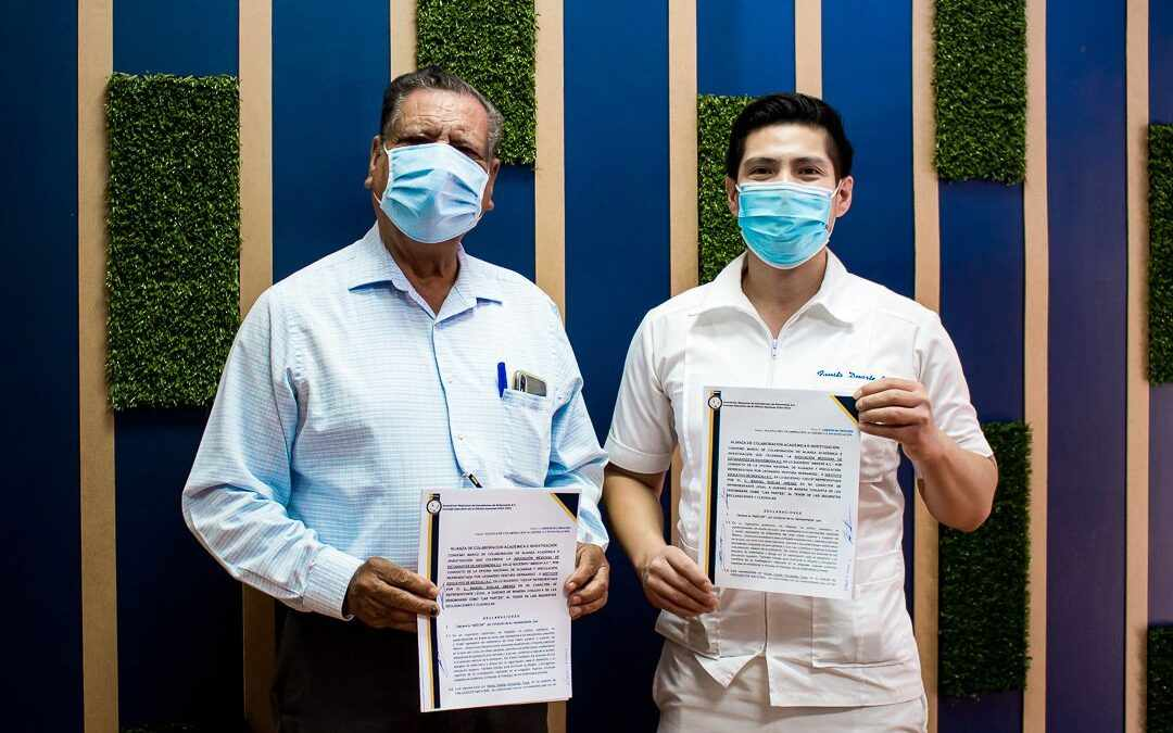 Celebra coordinación de enfermería convenio con la Asociación Mexicana de Estudiantes de Enfermería